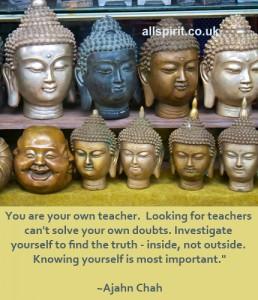 Teachers Ajahn Chah on Allspirit