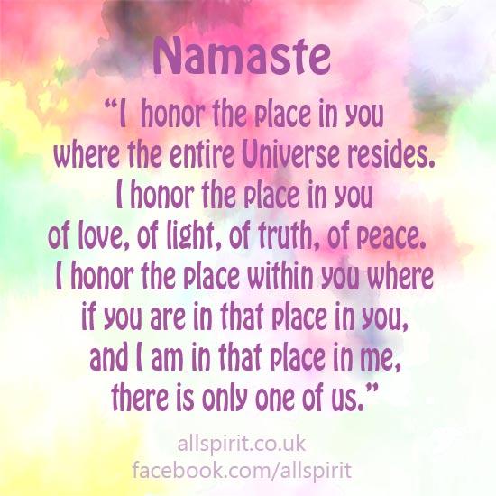 Namaste Allspirit