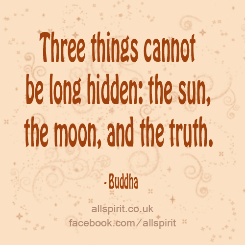 Sun, Moon, Truth
